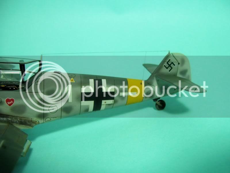 Messerschmitt 109 G-6 1/48 Erich Hartmann Tulipan Negro ASdeASES6