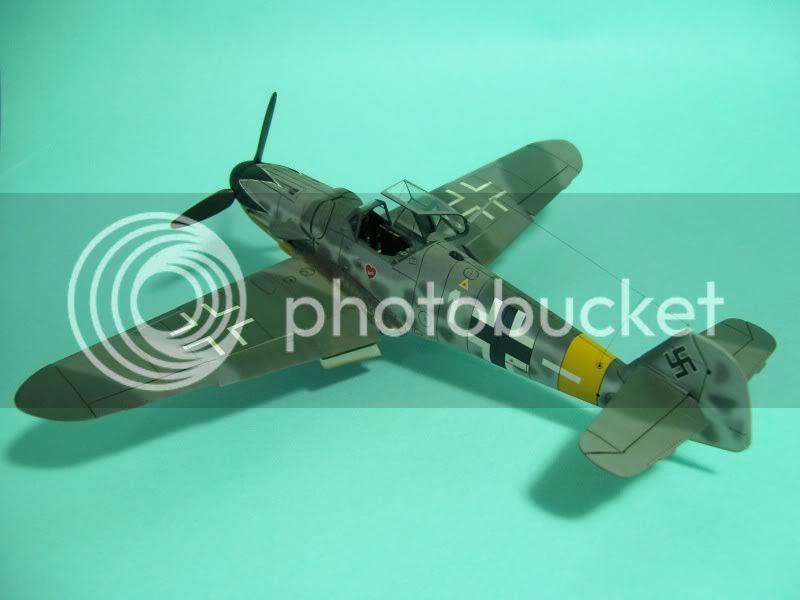 Messerschmitt 109 G-6 1/48 Erich Hartmann Tulipan Negro ASdeASES7