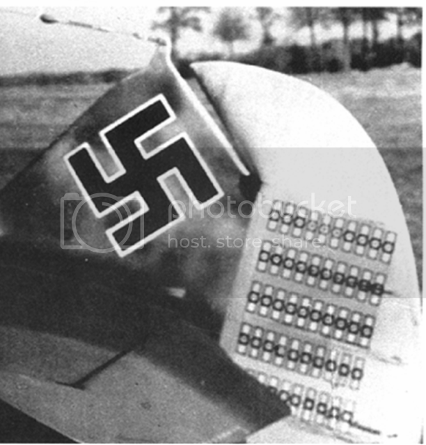 Messerschmitt 109 G-6 Erich Hartmann Tulipan N. (Terminado) Colaexacta