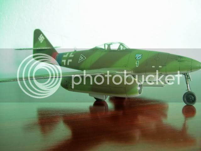 Messerschmitt 262 1/48 Tamiya, Rudolf Sinner III/JG-7 FinalizaciondelMe2621