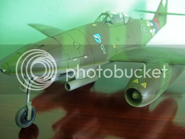 Messerschmitt 262 1/48 Tamiya, Rudolf Sinner III/JG-7 FinalizaciondelMe26210