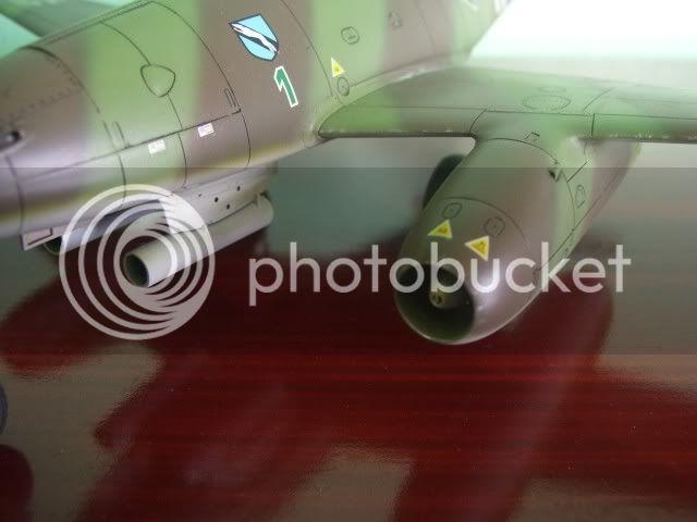 Messerschmitt 262 1/48 Tamiya, Rudolf Sinner III/JG-7 FinalizaciondelMe26211