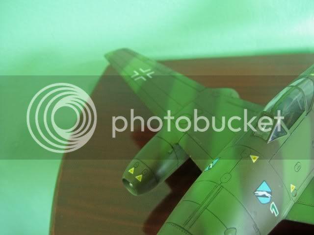 Messerschmitt 262 1/48 Tamiya, Rudolf Sinner III/JG-7 FinalizaciondelMe26213