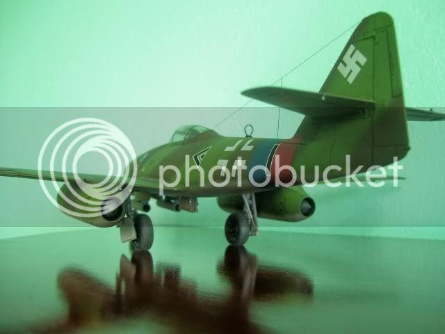 Messerschmitt 262 1/48 Tamiya, Rudolf Sinner III/JG-7 FinalizaciondelMe26215
