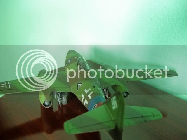 Messerschmitt 262 1/48 Tamiya, Rudolf Sinner III/JG-7 FinalizaciondelMe26216
