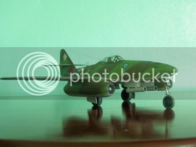Messerschmitt 262 1/48 Tamiya, Rudolf Sinner III/JG-7 FinalizaciondelMe2622