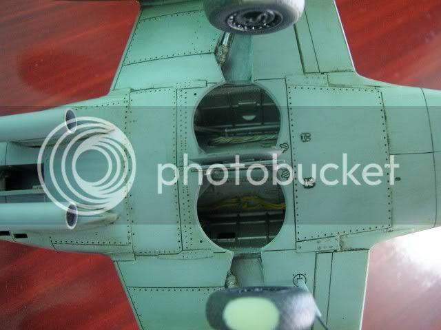Messerschmitt 262 1/48 Tamiya, Rudolf Sinner III/JG-7 FinalizaciondelMe26226