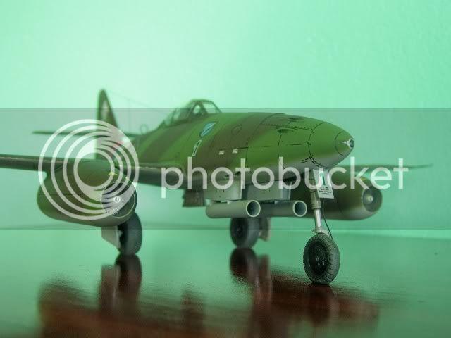 Messerschmitt 262 1/48 Tamiya, Rudolf Sinner III/JG-7 FinalizaciondelMe2623