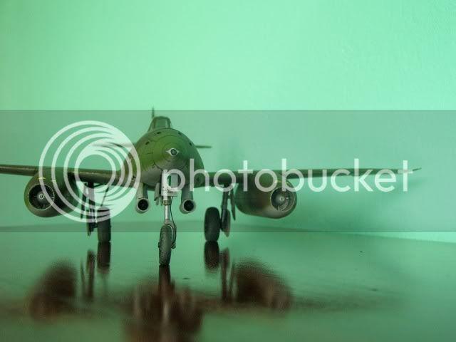 Messerschmitt 262 1/48 Tamiya, Rudolf Sinner III/JG-7 FinalizaciondelMe2625