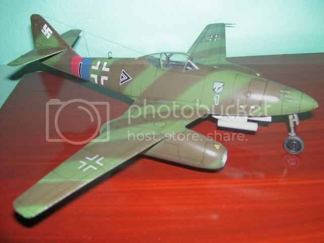 Messerschmitt 262 1/48 Tamiya, Rudolf Sinner III/JG-7 FinalizaciondelMe2626