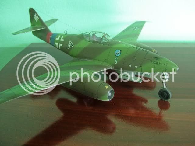 Messerschmitt 262 1/48 Tamiya, Rudolf Sinner III/JG-7 FinalizaciondelMe2627