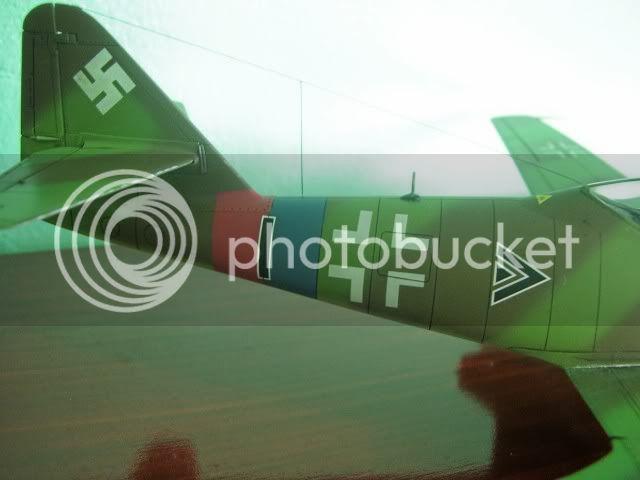 Messerschmitt 262 1/48 Tamiya, Rudolf Sinner III/JG-7 FinalizaciondelMe2628