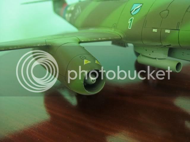 Messerschmitt 262 1/48 Tamiya, Rudolf Sinner III/JG-7 FinalizaciondelMe2629