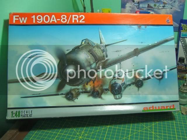 Focke Wulf 190 A-8/R2 JG-3 Nariz Negra Eduard 1/48 FockeWulf190A-8R21