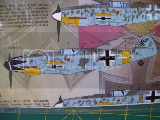 Messerschmitt 109 G-6 Erich Hartmann Tulipan N. (Terminado) NuevoProyectodelPanzer2