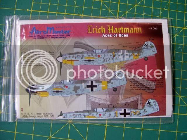 Messerschmitt 109 G-6 Erich Hartmann Tulipan N. (Terminado) NuevoProyectodelPanzer3