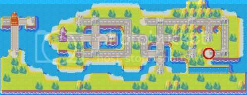 Super Mario Bros. 3 maps Mario4-1