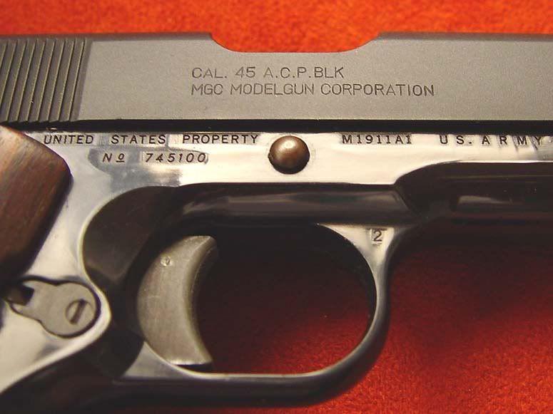 Wanted-MGC COLT M1911 Instructions Please COLT1911mgc7