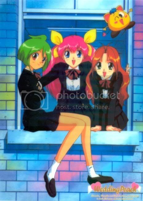 Uniformes anime WeddingPeach26