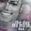 Tributes for Michael Thedaythemusicdied