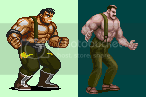 SOR Sprite Edits, Fake Screens, & Original Work Haggar-Max