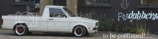 "MK1 Golf ""the more door whore""........KERMIT Caddy320"