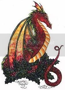 If I were a dragon ... I would look like this .. - Page 5 ChristmasDragon