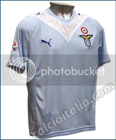 10 Kostum Sepakbola terjelek 09-10 Lazio
