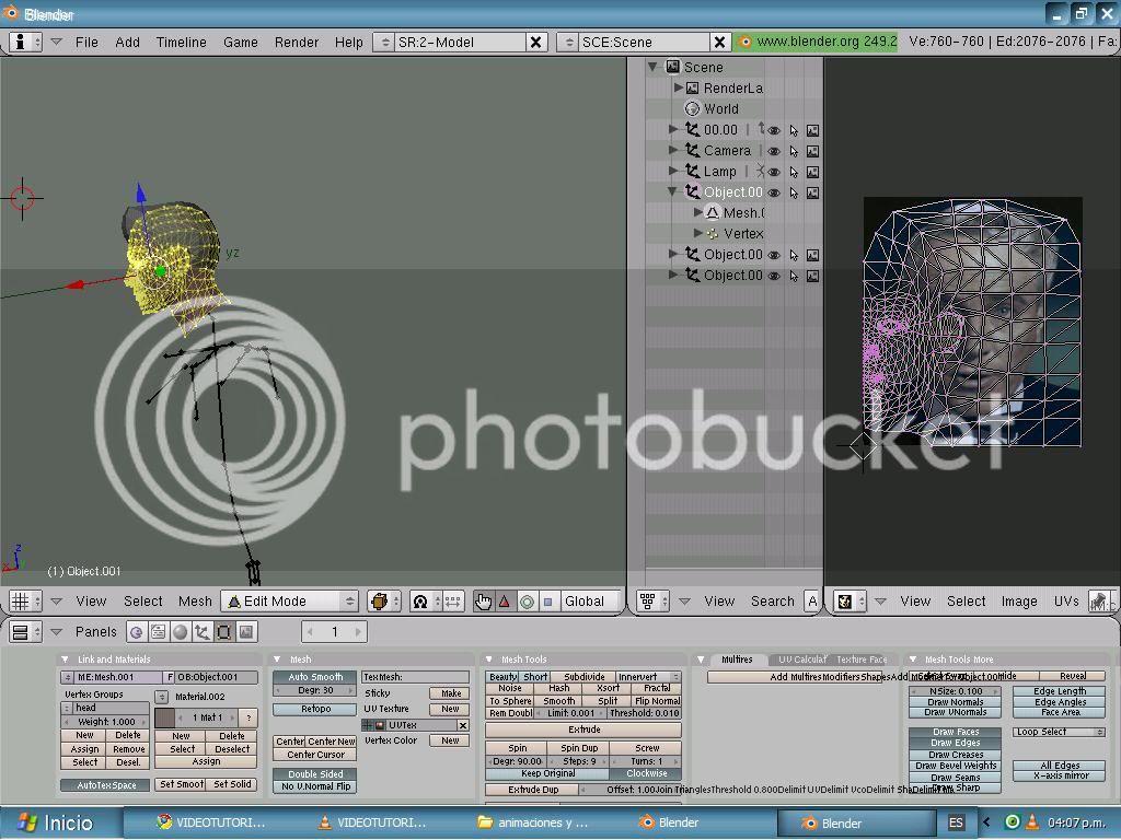 Tutorial UV Mapping en Blender (mapeado)  Dibujo-2