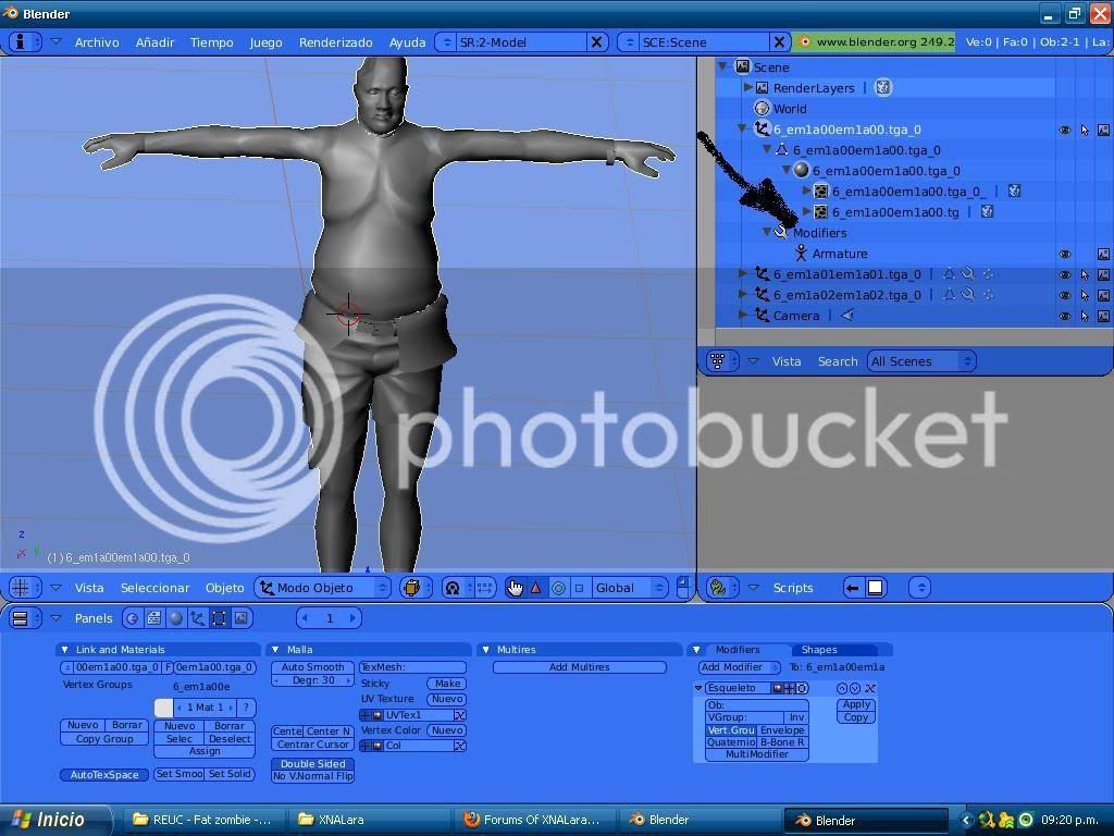 Duda con modelos 3D Duda