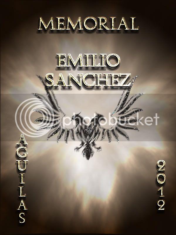 """Elección del poster representativo del Memorial """"Emilio Sánchez"""" Posteraguilas"""