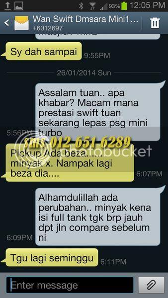 Mini Turbo Tambah Pickup! Laju Naik Bukit! Jimat Minyak! TERBAIK Utk Viva,Myvi,Alza! Swift26012014