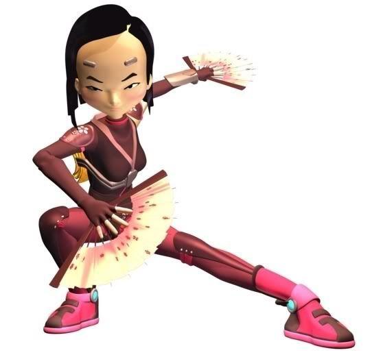 View a character sheet Yumi