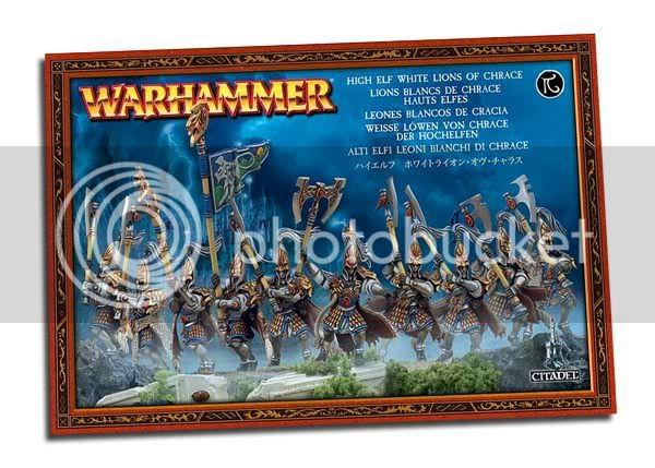 Nouveautés Warhammer Battle HE-whitelions