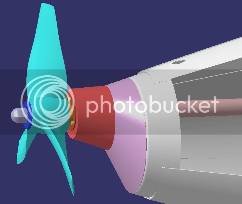 Holland Plans PropellerandHousing3DDrawing