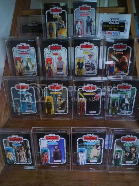 Palitoy Logo'd MOC Collection 41backs