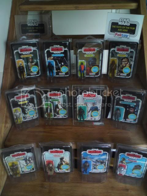 Palitoy Logo'd MOC Collection 45aback