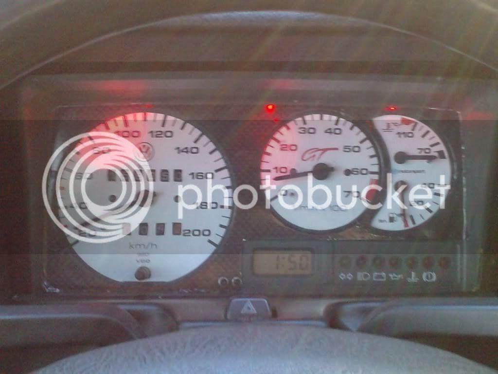 Problema con el cuenta kilometros Tablero
