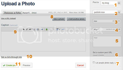 [ Tutoriel ] Tumblr, mode d'emploi Upload