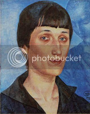 Anna Akhmatova, L'icône de la souffrance russe Petrov-vodkin-akhmatova