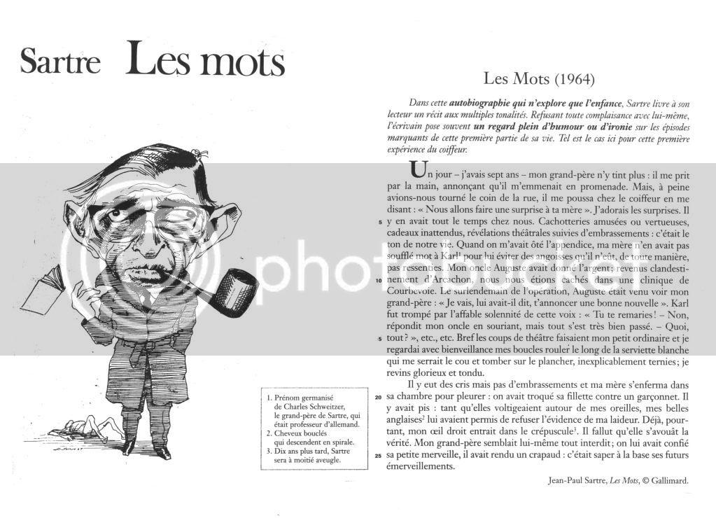 Ecriture de l'exil - Page 2 Sartre20-20Les20mots
