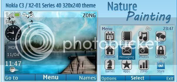 [share] Tổng hợp theme cực đẹp cho Nokia C3-00 & X2-01 5