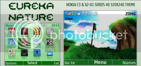 [share] Tổng hợp theme cực đẹp cho Nokia C3-00 & X2-01 Glowgadget