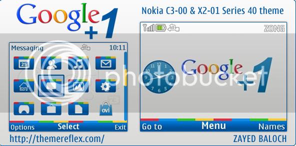 [share] Tổng hợp theme cực đẹp cho Nokia C3-00 & X2-01 Google1