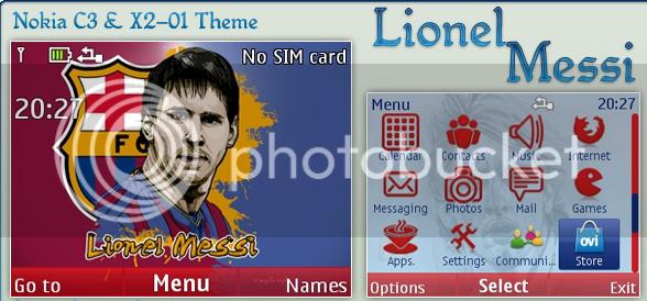 [share] Tổng hợp theme cực đẹp cho Nokia C3-00 & X2-01 Lioemessi