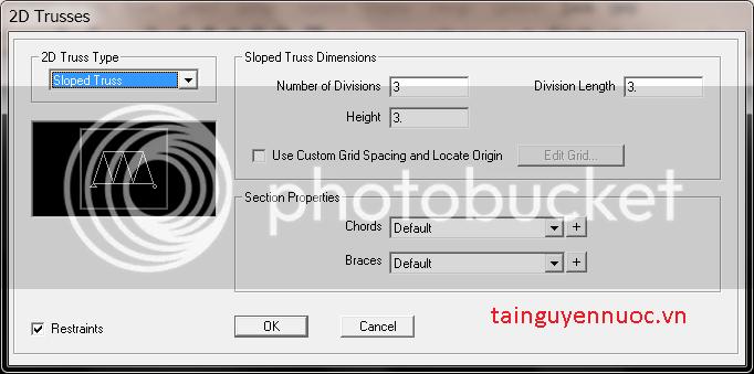 Cơ bản về SAP2000v10 , 11 , 12 cho người mới bắt đầu Dan2D