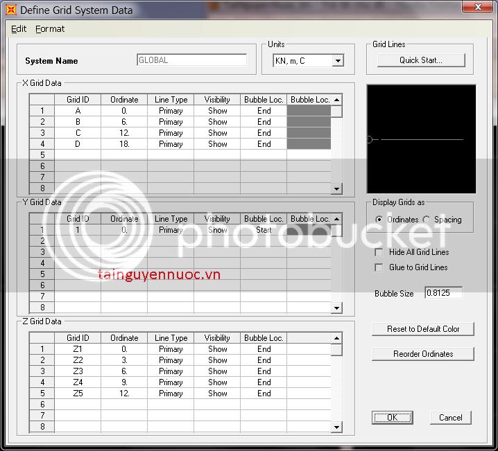 Cơ bản về SAP2000v10 , 11 , 12 cho người mới bắt đầu HeLuoi