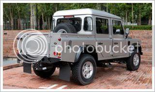 Coldman - Coldman's Defender D110 pickup. IMG_1421