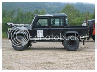 Coldman - Coldman's Defender D110 pickup. IMG_1422