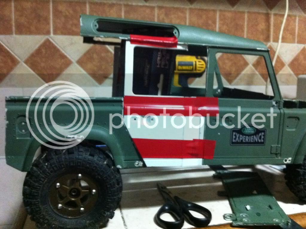 Coldman - Coldman's Defender D110 pickup. IMG_1440